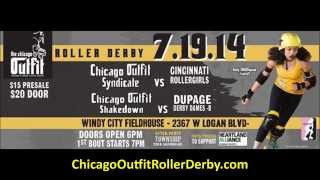 Chicago Outfit Roller Derby: Shakedown response to DuPage Derby Dames