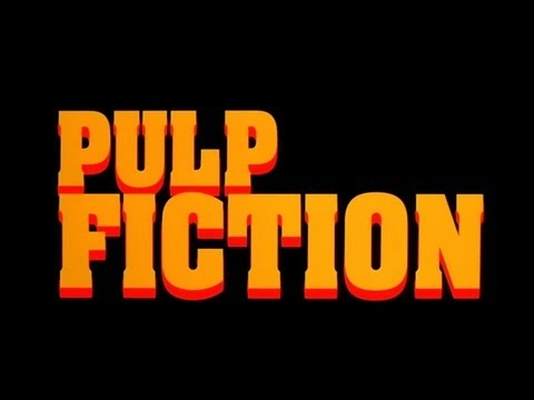 Pulp Fiction 1994  Opening Credits