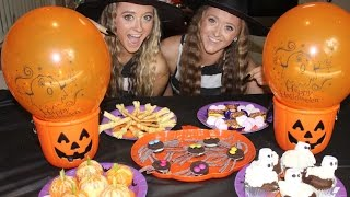 How to throw an AWESOME DIY Halloween Party!  Sam and Teagan
