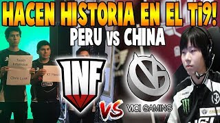 INFAMOUS vs VICI GAMING [Game 1] BO2 - Hacen Historia En El Ti9 - THE INTERNATIONAL 2019 DOTA 2