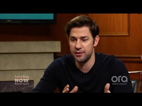 """John Krasinski on his daughters and crying """"over everything"""" 