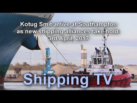 Kotug Smit tugs start Southampton operations, 3 March 2017 (revised)