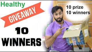 Giveaway winners list , congratulations all of you