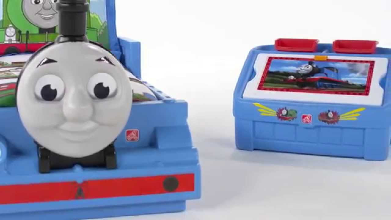 c8e4f064f12 Step2 Thomas the Tank Engine™ Toddler Bed - YouTube