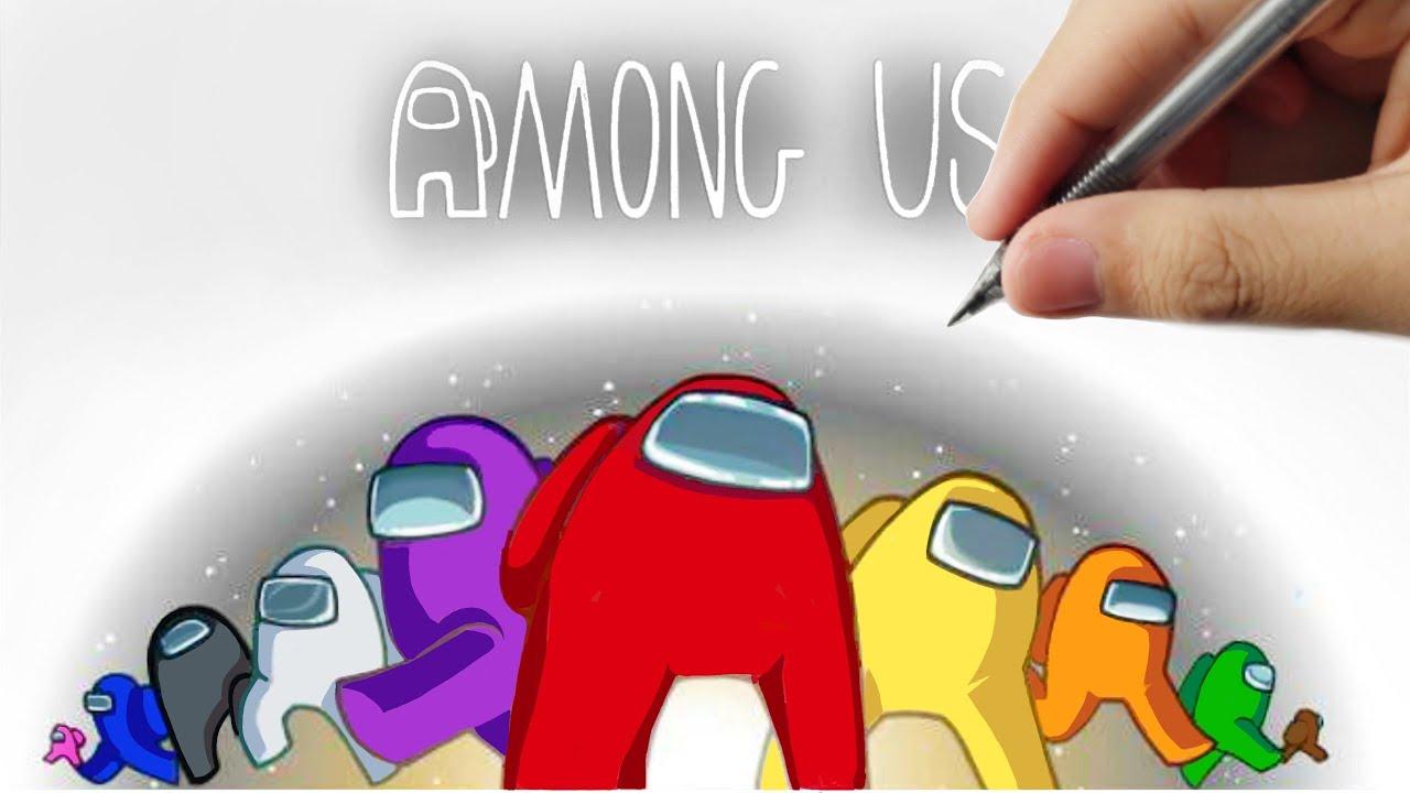 Download How To Draw Among Us 3d Easy Drawings Mp4 3gp Iroko Netnaija Fzmovies