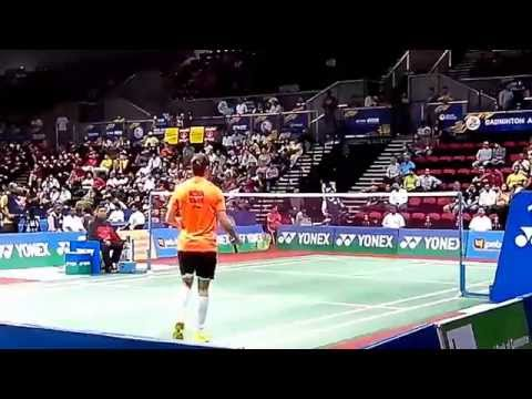 Chen Long vs Jan O Jorgensen BEST Badminton Match 2/3 | BWF India Open 2014 MS,QF | Perfect Angle