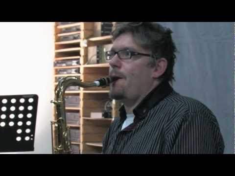 Jazz Improvisation für Saxophonisten - SELMER-RICO Workshop mit Johannes Enders