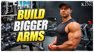 This Is Why Your Arms Won't Grow