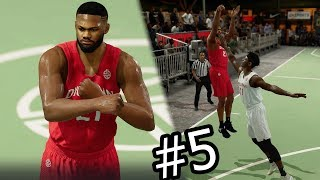 NBA Live 18 The One Career Mode -  Wow! How Did That Go In?! Deep Contested Circus Shot! Ep. 5