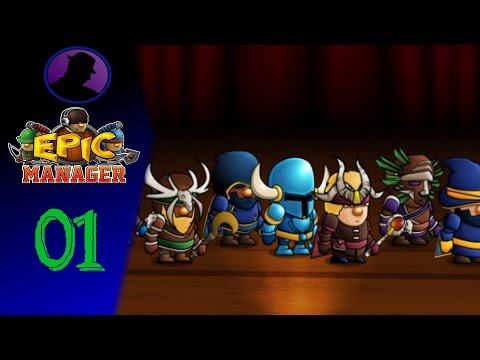 Let's Play Epic Manager - Ep. 1 - The Simpering Simians!