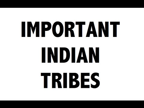 Important Tribes of India - Static General Knowledge