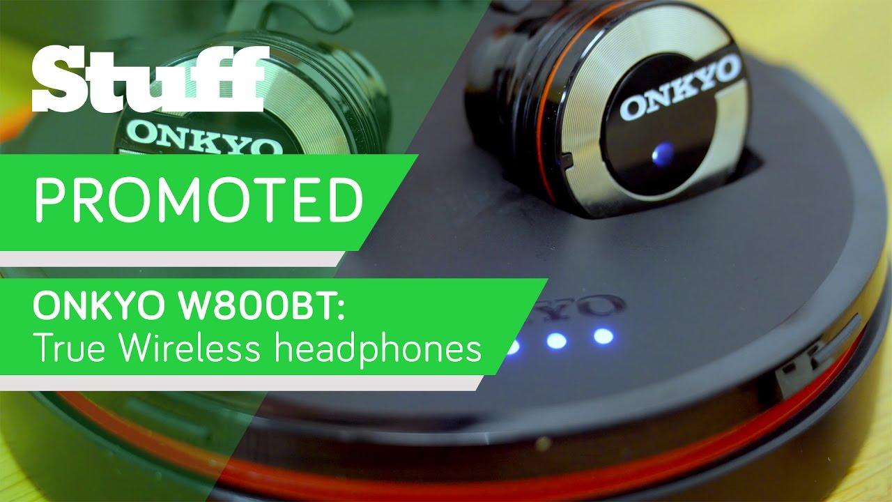 onkyo w800bt. promoted: onkyo w800bt true wireless \u2013 hi-fi quality without snags - youtube w800bt