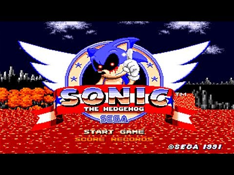 FINALLY A GAME WHERE SONIC CAN ESCAPE SONIC.EXE!!   An Ordinary Sonic Rom Hack