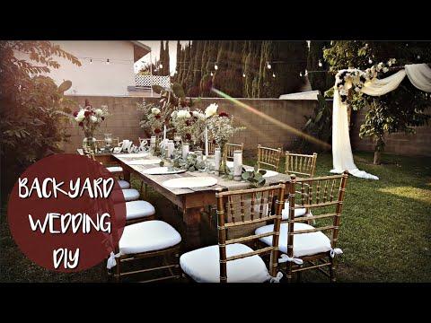 backyard-wedding-diy!-hobby-lobby-&-dollar-tree-💒👰🏻👦🏻