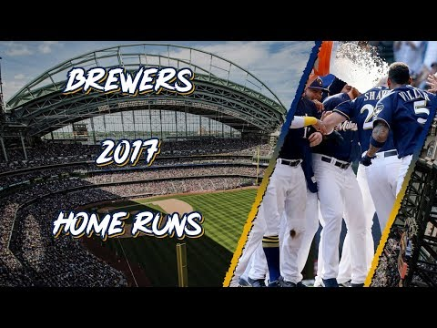 Milwaukee Brewers 2017 Home Runs