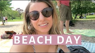 Beach Day, H&M Shopping and Vegan Ice Cream Vlog | VLOG 67
