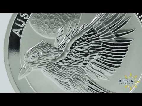 1oz Silver Australian Kookaburra 2018 Coin