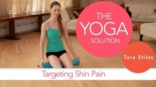 Targeting Shin Pain | The Yoga Solution With Tara Stiles