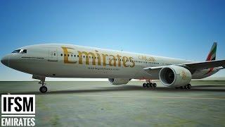 [HD] Infinite Flight Multiplayer Emirates B777-300ER - Racing a Vietnam Airline A321