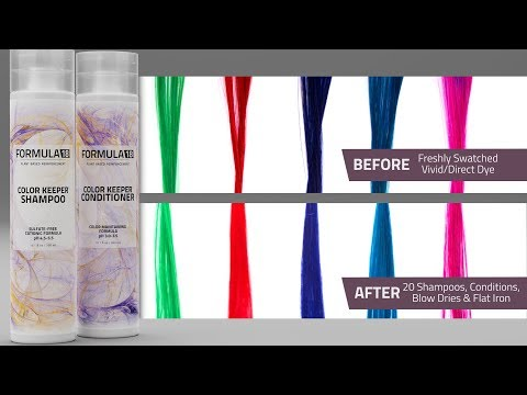 Formula 18 Color Keeper Shampoo And Conditioner