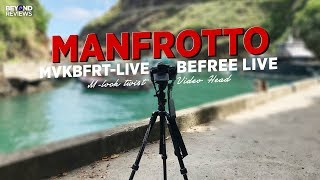 Manfrotto Befree Live Video Head Tripod (M-Lock Twist)