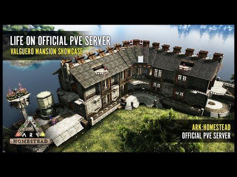 Official PvE Server Build - Valguero Mansion Showcase