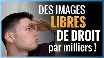 Trouver des images LIBRES DE DROIT sur google - 3 ressources GRATUITES et PAYANTES