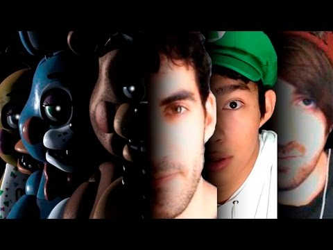 Thumbnail: FIVE NIGHTS AT FREDDY'S + YOUTUBERS = SUSTOS Y GRITOS (Especial Halloween parte 1/2)