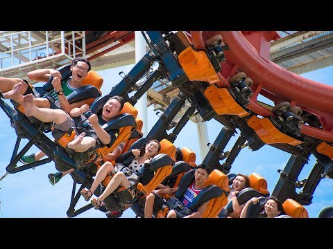 [HD] Dreamworld Amusement Park and rides (BANGKOK)