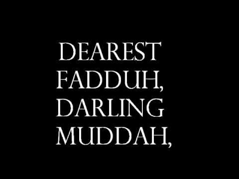 Hello Muddah, Hello Faddah Lyrics