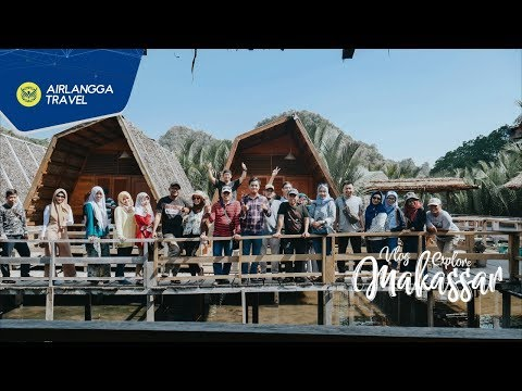 Vlog Explore  Makassar 2018 | Airlangga Travel