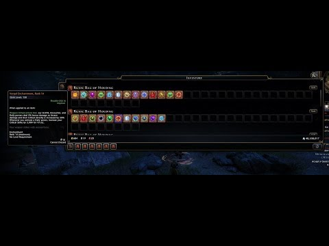 Neverwinter Mod 16 - All Weapon And Armor Enchantments Changes Showcase Unforgiven Barbarian (1080p)