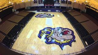JMU Basketball Court Time-Lapse