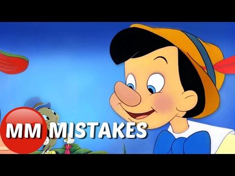 10 Disney Pinocchio MOVIE MISTAKES You Totally Missed |   Pinocchio Movie