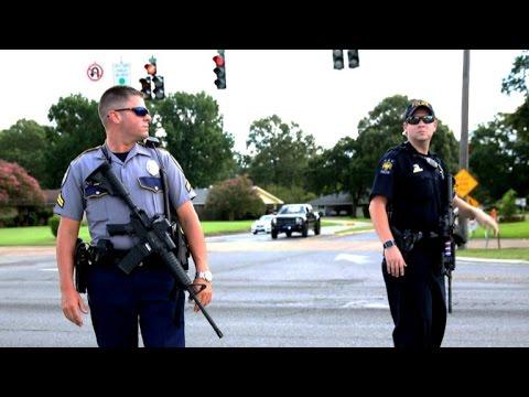 Baton Rouge gunman showed tactical skills in ambush
