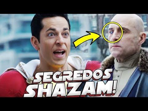 TODOS OS 15 SEGREDOS DO TRAILER OFICIAL DE SHAZAM