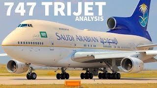 What is the 747 TriJet?