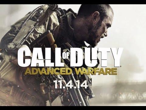 COD Advanced Warfare | Sniper gameplay y Menu