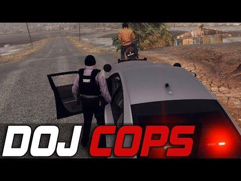 Dept. of Justice Cops #512 - Shooting Suspect