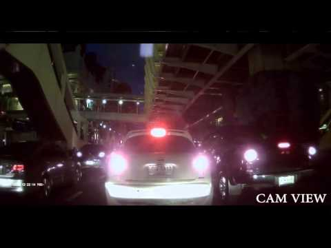 Explosion in Bangkok - Dash Cam View