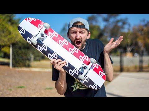 Skateboard Giveaway Full Park SKATE!