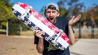 Skateboard Giveaway Full Park SKATE!