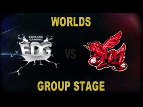 EDG vs AHQ - 2014 World Championship Groups A and B Tiebreaker D4G7