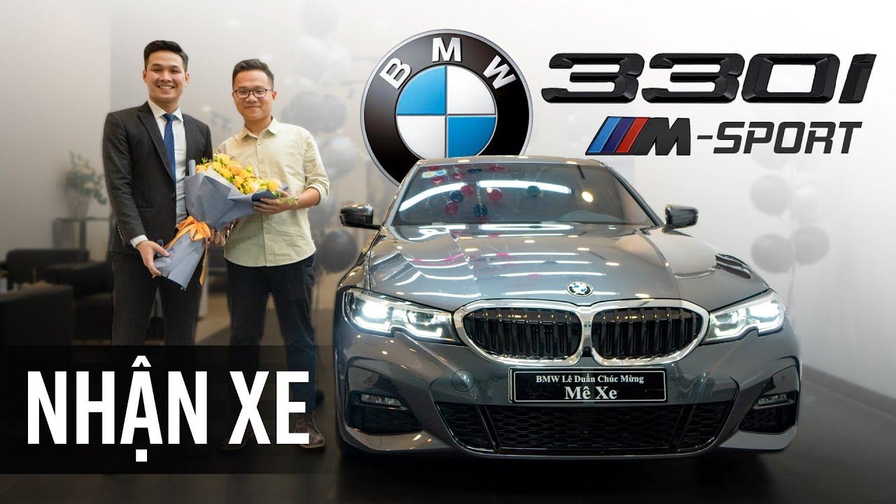 Mua BMW 330i M Sport mừng Mê Xe 100.000 subcribers