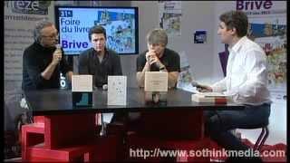 FOIRE DU LIVRE BRIVE 2012 : Forum des lecteurs –  P. JOURDES, S. BRAMLY, R. DE SA MOREIRA