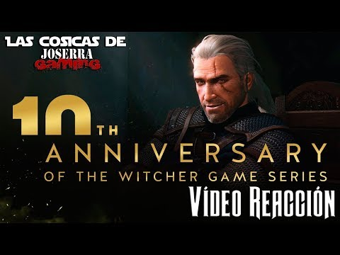 Celebrating the 10th anniversary of The Witcher - Vídeo Reacción