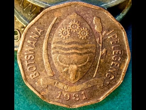 Botswana 2 Thebe Coin Monday Morning Africa Coin Video #5