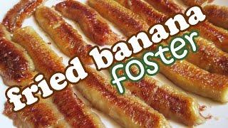 Fried Bananas Foster Recipe - No Bake Banana Desserts - Quick And Easy Dessert Recipes Ideas Jazevox