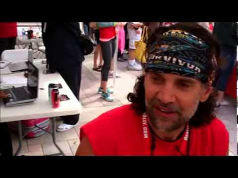 Survivor Oz - Richard Hatch & Troyzan Robertson Interview Reality Rally 2013
