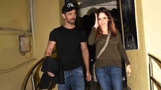 Hrithik Roshan Watches Simmba With Ex-Wife Sussanne Khan & Kids Hrehaan And Hridaan